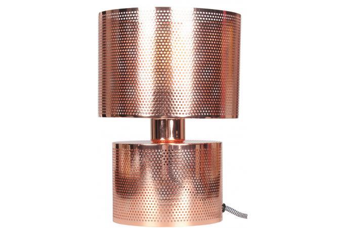 lampe a poser opjet ajouree en metal coloris cuivre d18xh28 perfore design 190168 680x450 Résultat Supérieur 15 Nouveau Lampe Design Cuivre Pic 2017 Kdj5