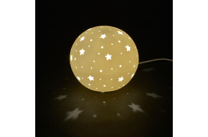 Lampe Chevet 5 D'infos H18 Starlight De Etoilée Boule Plus OuXZiPkT