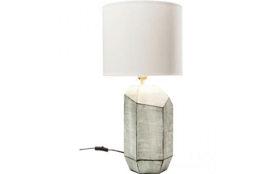 lampe a poser kare design gris diamant lampe poser pas cher. Black Bedroom Furniture Sets. Home Design Ideas