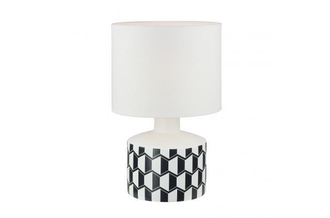 Géométrique Et Poser A Noir Plus Lampe Ceramica D'infos Blanc E2IWD9YH