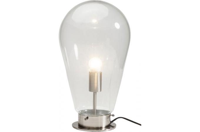 lampe de table kare design ampoule blanche bulb lampe poser pas cher. Black Bedroom Furniture Sets. Home Design Ideas