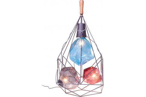 Lampe DIAMONDS IN THE CAGE