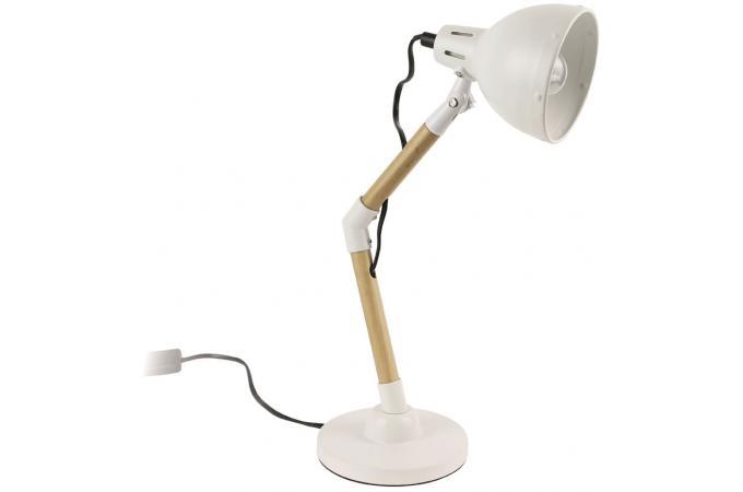 Lampe Et Bois Plus Industrielle Métal Blanc Amedee D'infos qVSpzUM