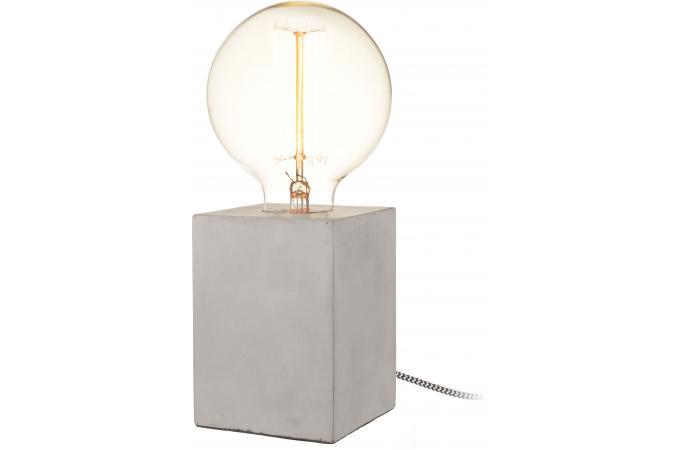 Lampe Industrielle Carrée Impression Beton H42 Beton 5 5 1 Avis