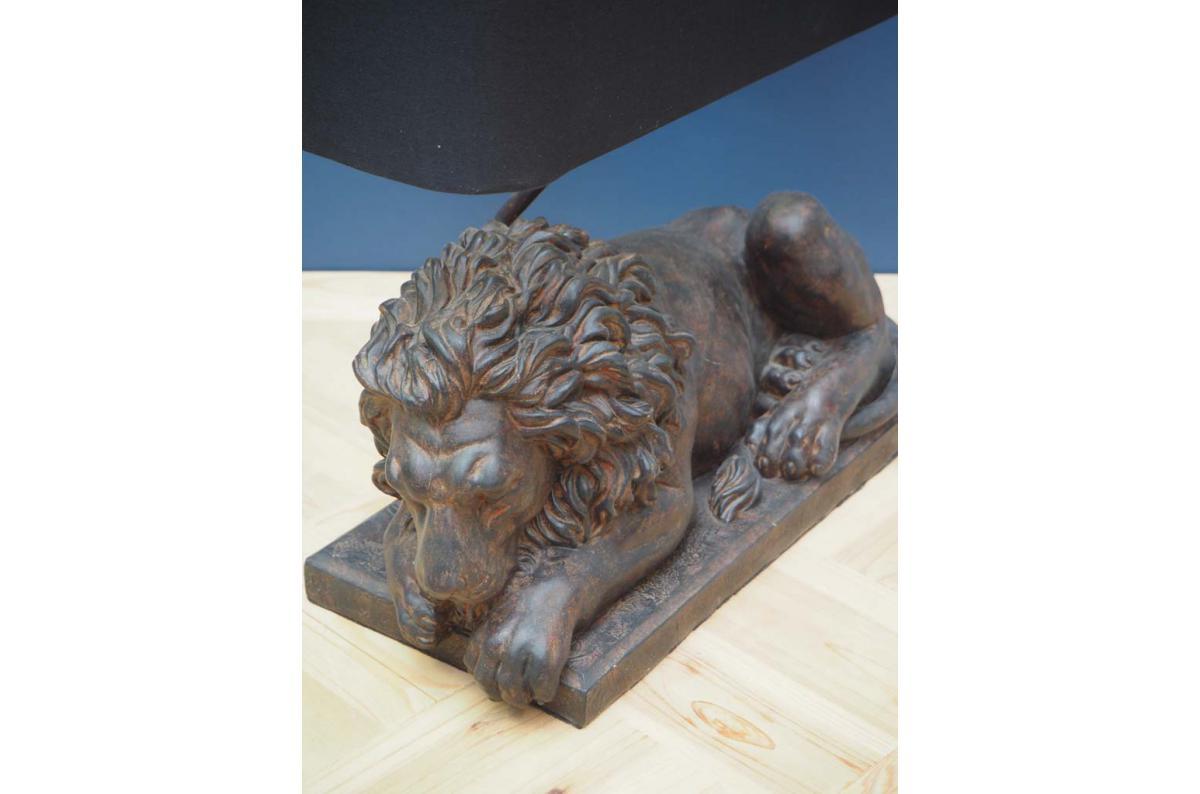 Lampe à poser lion CHIARO Plus d'infos