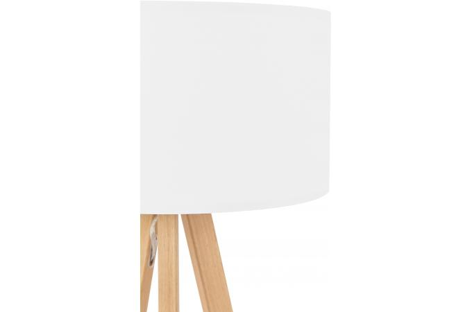 lampe scandinave abat jour blanc tornby lampe poser. Black Bedroom Furniture Sets. Home Design Ideas