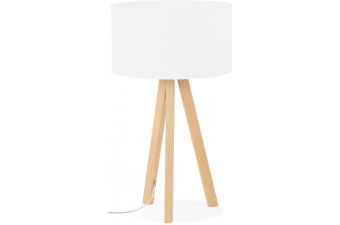Lampe Scandinave Abat Jour Blanc Tornby Lampe A Poser Pas Cher