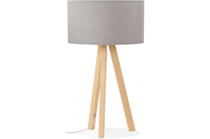 lampe scandinave abat jour gris tornby lampe poser pas. Black Bedroom Furniture Sets. Home Design Ideas