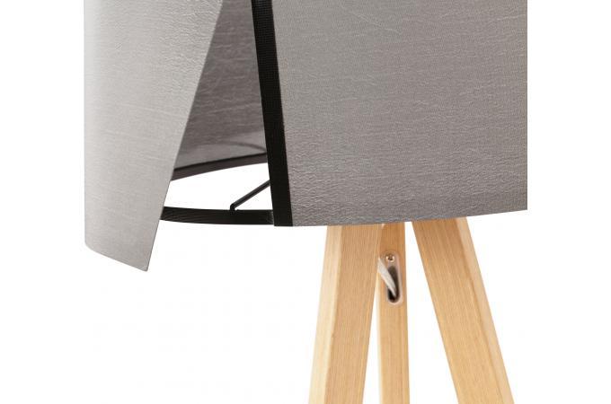 lampe scandinave abat jour gris tornby lampe poser pas cher. Black Bedroom Furniture Sets. Home Design Ideas