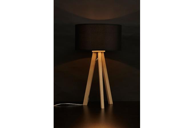 lampe scandinave abat jour noir tornby lampe poser pas. Black Bedroom Furniture Sets. Home Design Ideas