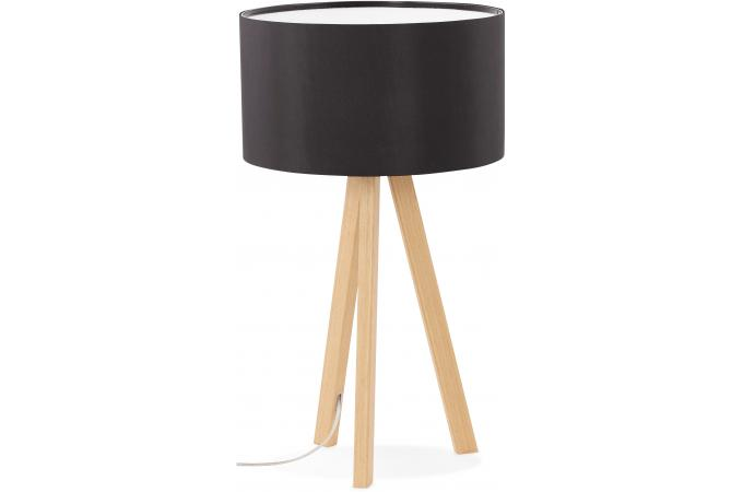 lampe scandinave abat jour noir tornby lampe poser pas cher. Black Bedroom Furniture Sets. Home Design Ideas