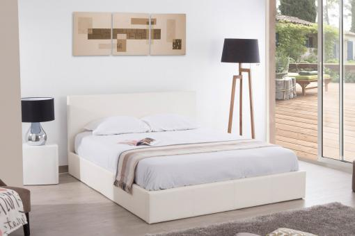 Lit Coffre 180x200 Blanc ANTHOLOGY