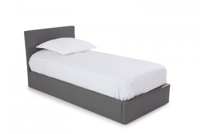 lit coffre 90x190 gris anthology lit enfant pas cher. Black Bedroom Furniture Sets. Home Design Ideas