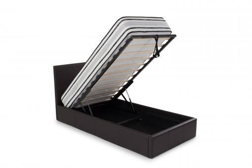 lit coffre 90x190 chocolat anthology lit enfant pas cher. Black Bedroom Furniture Sets. Home Design Ideas