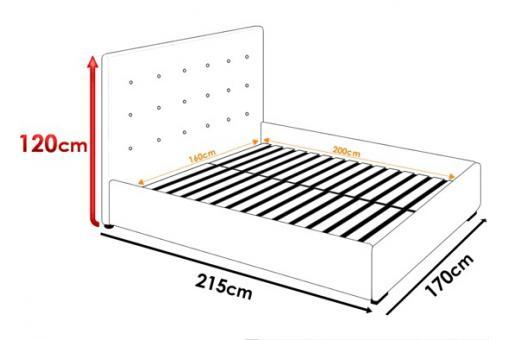 lit coffre blanc sommier relevable 160x200 nani lit design pas cher. Black Bedroom Furniture Sets. Home Design Ideas