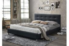 lit design pas cher lit capitonn simili cuir lit relevable. Black Bedroom Furniture Sets. Home Design Ideas
