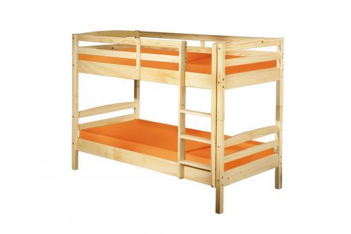 lits superpos s s parable bois 90x190 mick lit enfant. Black Bedroom Furniture Sets. Home Design Ideas