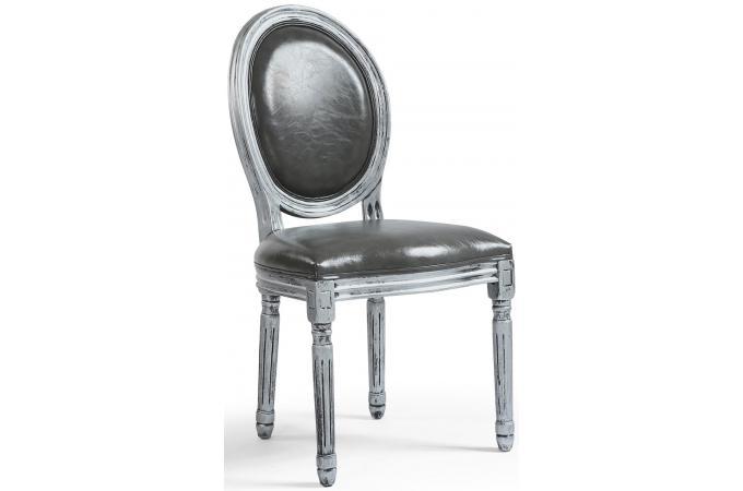 Lot De 2 Chaises Mdaillon Argent VERSAILLES Chaise Design