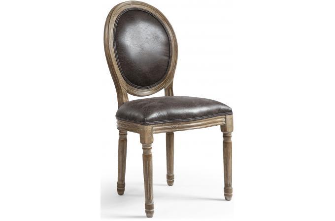 lot de 2 chaises m daillon vieilli versailles chaise design pas cher. Black Bedroom Furniture Sets. Home Design Ideas