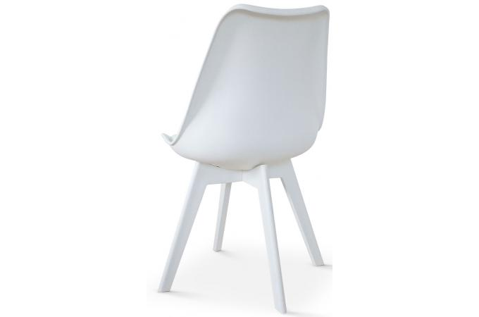 Lot De 2 Chaises Scandinaves Blanches NIRA Chaise Design