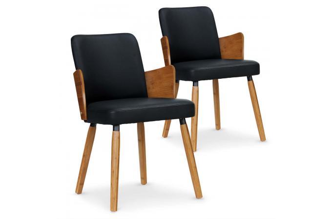Noir PHIBIE Chaise Design