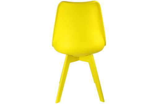 lot de 2 chaises scandinaves jaunes nira chaise design pas cher. Black Bedroom Furniture Sets. Home Design Ideas