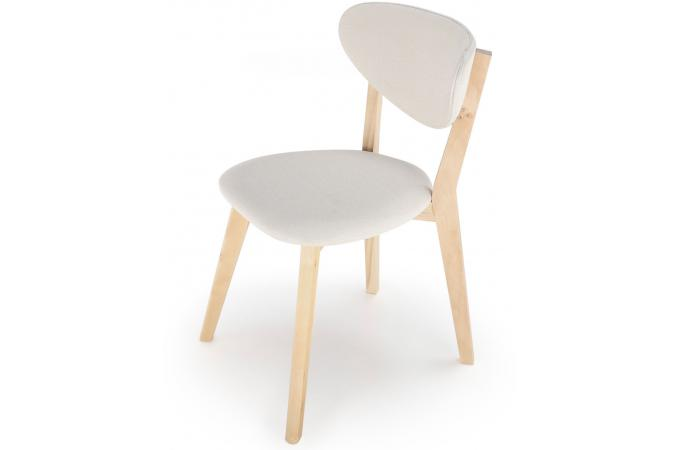 Lot De 2 Chaises Style Scandinave Crme CARTER
