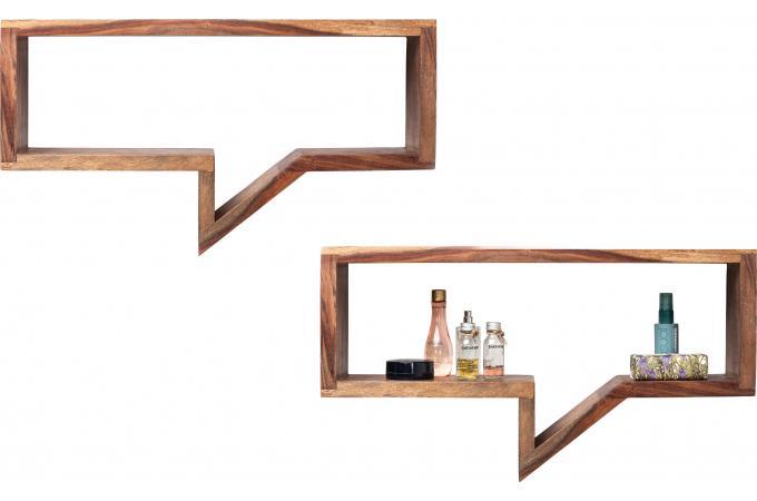 lot de 2 etag res murales speech bubble etag re pas cher. Black Bedroom Furniture Sets. Home Design Ideas