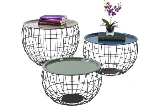 Lot De 3 Tables Basses Wire LA COSTA