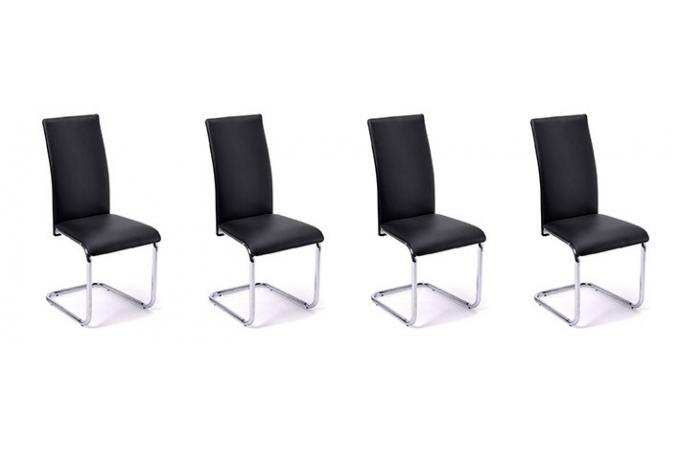 chaises design pas chere par quatre elegant e chaise table a manger design le monde de la. Black Bedroom Furniture Sets. Home Design Ideas