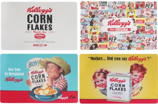 Lot De 4 Set De Table Kellogg's