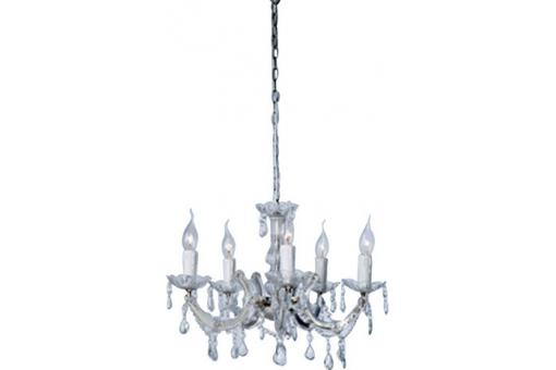 Lustre baroque diamant transparente Eternity
