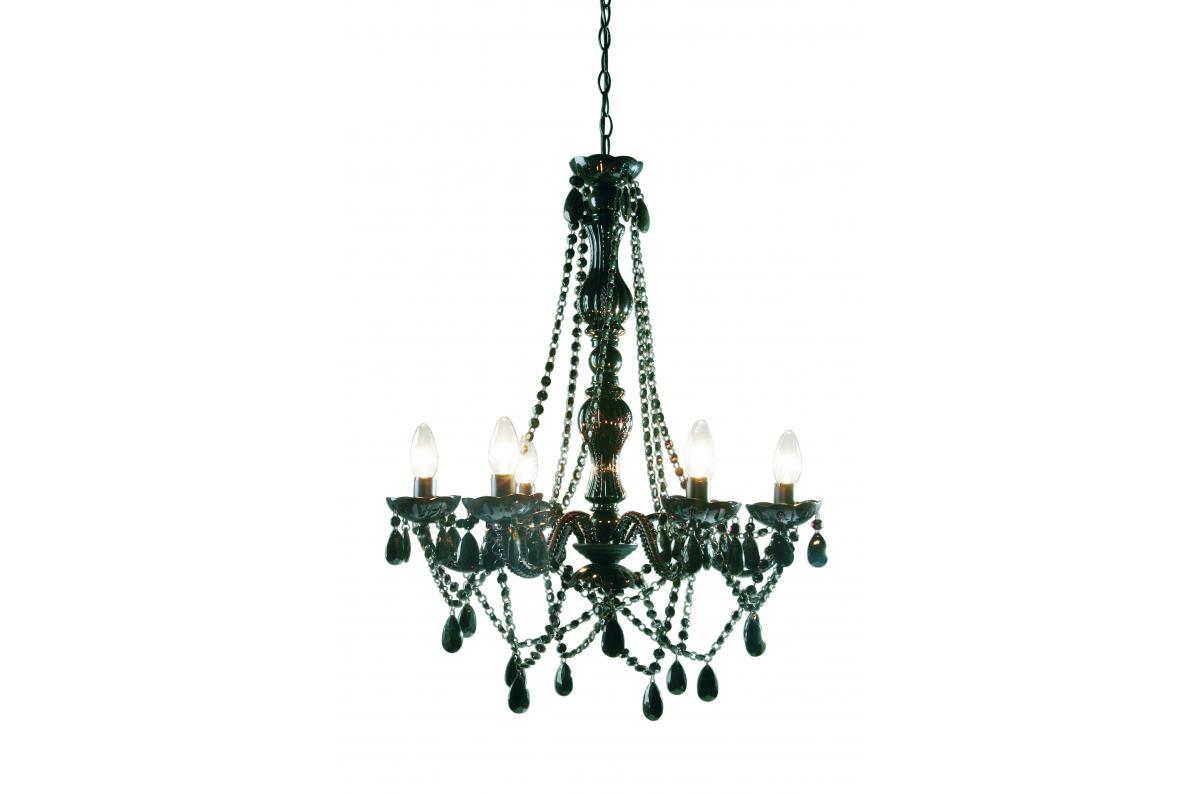 Chambre Baroque Noir Et Violet lustre baroque noir 6 bras crystal 4/5 (2 avis)