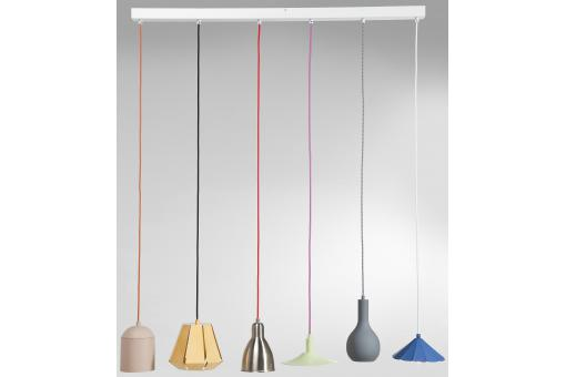 Lustre Starlight 6 branches multicolore - Lustre et suspension design