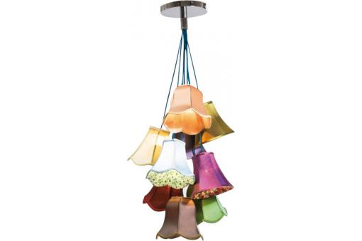 Lustre Multicolore Liberty Saloon - Lustre et suspension design