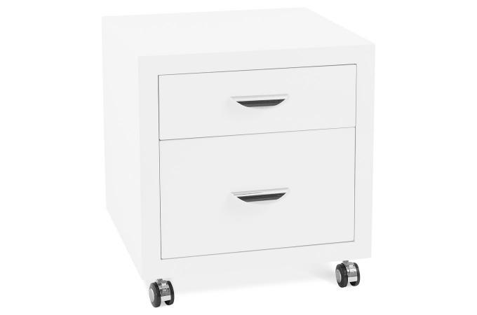 Meuble de bureau rangements blanc regueras accessoire & caisson