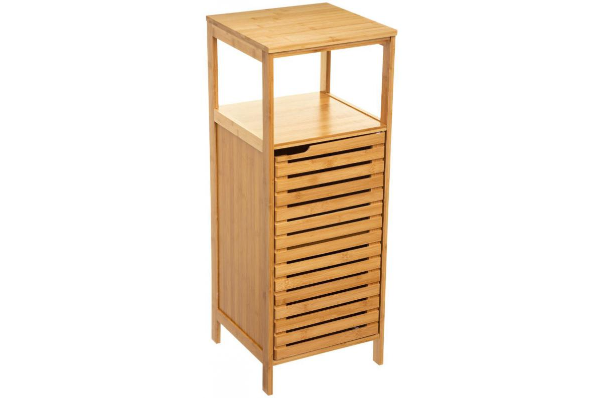 meuble en bambou pas cher meuble de rangement en bambou beige siccela meuble salle
