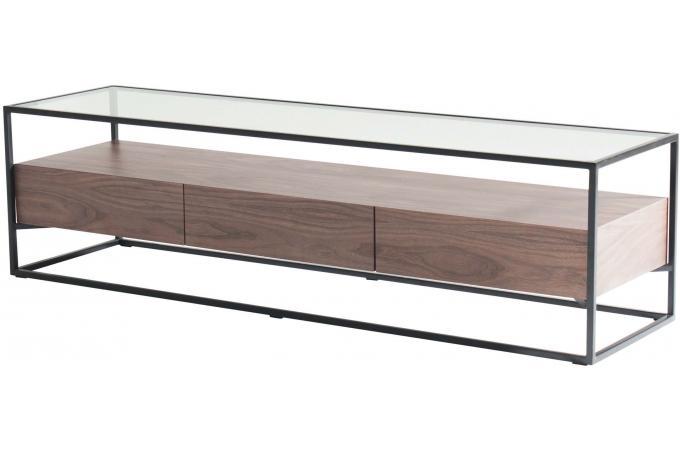 meuble tele en bois et verre goza design 254313 680x450 Résultat Supérieur 50 Unique Meuble Tv Bois Et Verre Image 2018 Hgd6