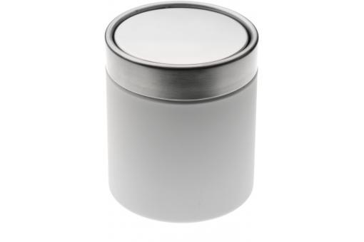 Mini poubelle de salle de bain blanche 1 25l nick poubelle design pas cher - Mini poubelle salle de bain ...