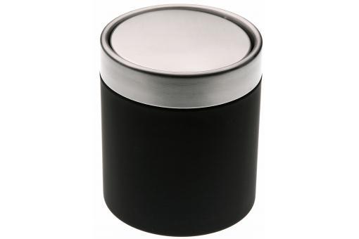 Mini Poubelle De Salle De Bain Noire 1 25l Nick Poubelle Design Pas Cher