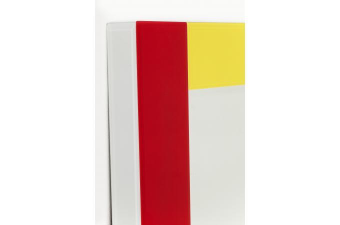 miroir composition 150x70cm miroir rectangulaire pas cher. Black Bedroom Furniture Sets. Home Design Ideas
