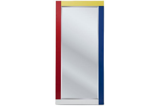 miroir composition 150x70cm miroir rectangulaire pas cher