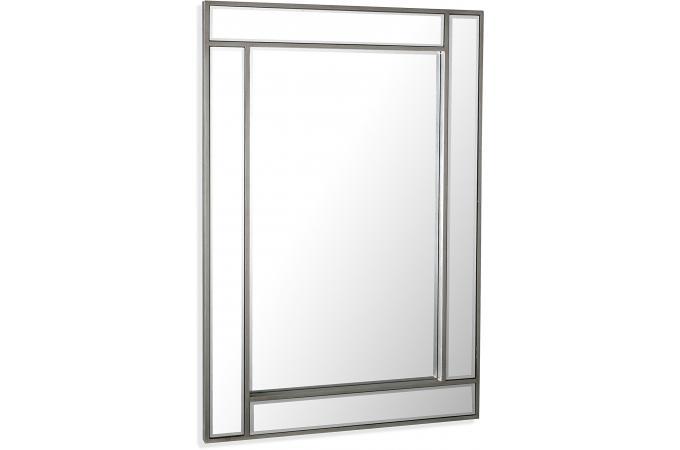 Miroir design argent masala miroir for Acheter miroir design