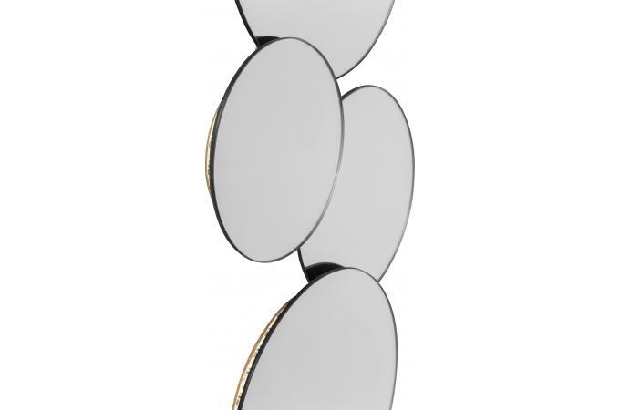Miroir kare design galets ronds led ciottoli miroir rond for Miroir galet