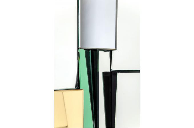 Miroir metamorphosis carr miroir rectangulaire pas cher for Miroir carre pas cher