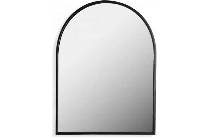 Miroir Mural Cadre Métal Noir Charles Miroir Pas Cher