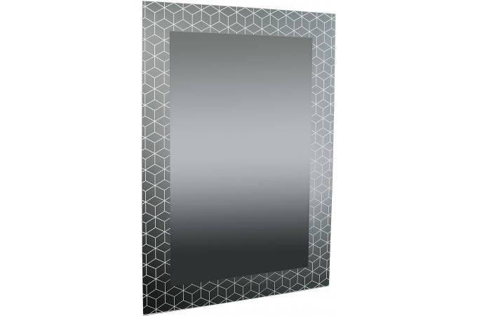 Miroir rectangulaire impression formes g om triques for Impression en miroir