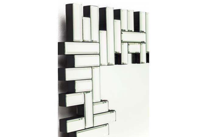 Miroir rectangulaire puzzle 120x58cm miroir for Miroir rectangulaire design