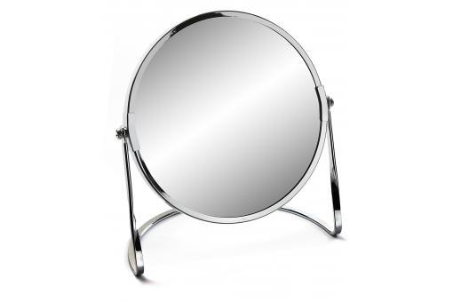 Miroir rond sur pied 2 faces grossissant x 5 et x 1 for Miroir rond sur pied