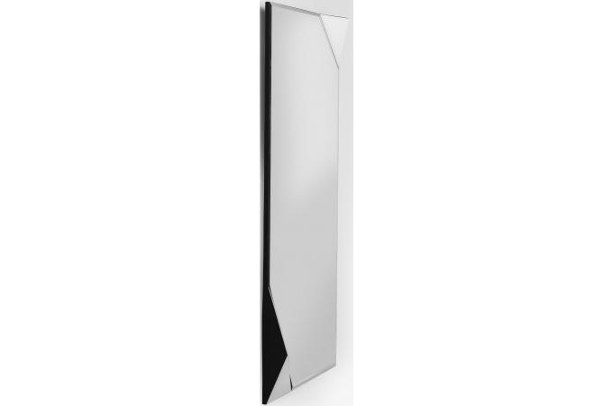 Miroir triangle kare design blanc 150x70cm miroir - Miroir rectangulaire pas cher ...